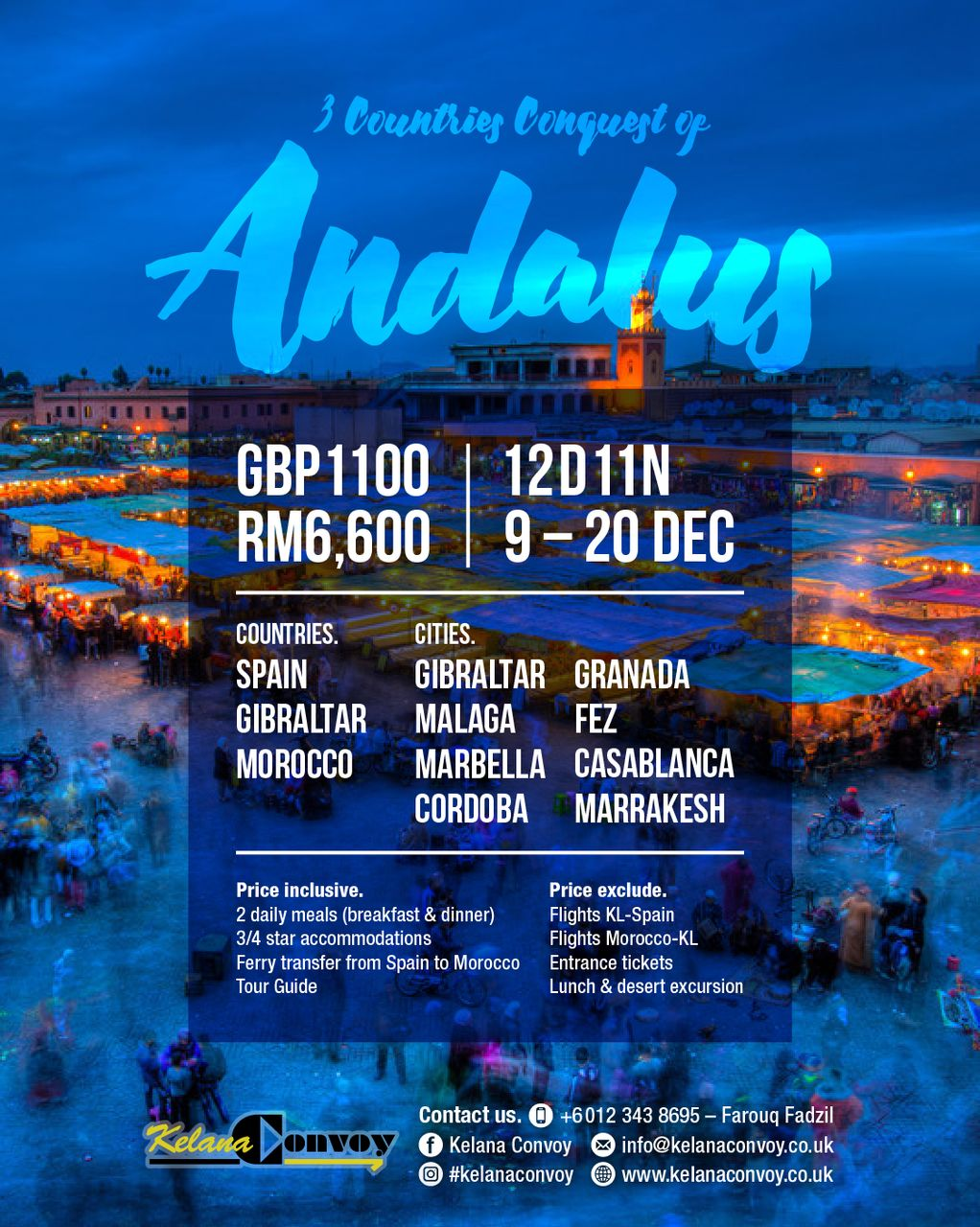 2017 Conquest of Andalus & Morocco